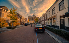 Dorpsstraat & Petruskerk, Vught. (Alex-de-Haas) Tags: 11mm adobe aurorahdr aurorahdr2019 blackstone brabant d850 dutch europa europe hdr holland irix irix11mm lightroom nederland nederlands netherlands nikon nikond850 noordbrabant skylum vught autumn beautiful beauty cirrus city cityscape clouds dorp fall herfst landscape landschaft landschap lucht skies sky skyscape stad stadsfotografie straat street suburban sunny town urban village zonnig