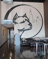 The brewery's logo on the wall (debstromquist) Tags: bluenosebrewery breweries craftbeers beers hodgkins il illinois businesslogos logos