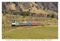 Br 186 182 RailPool - Innerbraz (CC72080) Tags: railpool br186 ski express euroexpress nachtzug personenzug locomotive lokomotive locomotiva train zug treno nuit notte traxx innerbraz