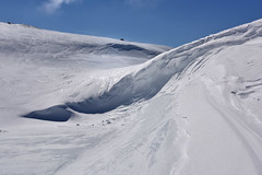 Folded (Zircon_215) Tags: folded foldedsnow snow snowdrift mountains annieopsquotchmountains