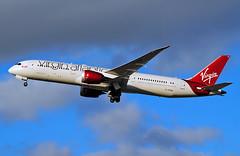 G-VFAN Virgin Atlantic Boeing 787-9 (Infinity & Beyond Photography: Kev Cook) Tags: gvfan virgin atlantic airways boeing 787 7879 b787 aircraft airplane airline london heathrow airport lhr planes photos dreamliner