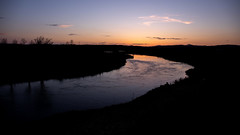 River Don Sunset (PeskyMesky) Tags: aberdeenshire kintore sunset sunrise riverythan silhouette landscape water canon canon5d eos