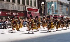 NYC Tartan Day Parade (neilsonabeel) Tags: nikonn90s nikon nikkor film analogue tartanday parade manhattan newyorkcity scotland