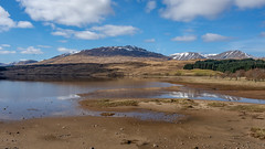 Tidal.... (Lee Harris Photography) Tags: landscape scotland loch reflections sky clouds water mountains trees outdoor light contrast uk beauty snowcapped nikon nikond7200 wideangle