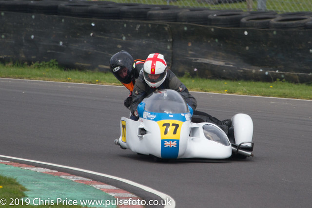 CRMC Castle Combe 2019 - Race 23 Classic Sidecars