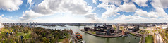 Pano Rotterdam (PortSite) Tags: gerard gh krol nikon d810 natuurlijk licht natural light lumière naturelle 自然光 nederland netherlands holland paysbas 荷兰 bajos нидерланды هولندا rotterdam architectuur architecture arquitectura архитектура 架构 modern moderne gebouw building wolkenkrabber skycrapper buiten outdoor outside panorama 360 stedelijk urban town nautical haven harbor grachten gracht canal canals brug bruggen bridge bridges euromast