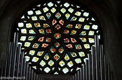 Vitrail (hobbyphoto18) Tags: vitrail stainedglass eglise church orgue églisesteloi dunkerque nordpasdecalais france pentaxk50 pentax k50