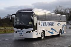 X5TCN  ''Border Reiver ll''  Telfords, Newcastleton (highlandreiver) Tags: x5tcn x5 tcn telfords coaches newcastleton jonckheere bus coach gretna