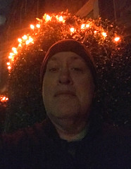 Day 2486: Day 296: Crown of lights (knoopie) Tags: 2018 october iphone picturemail doug knoop knoopie me selfportrait 365days 365daysyear7 year7 365more day2486 day296 11thavenueeast lights halloween