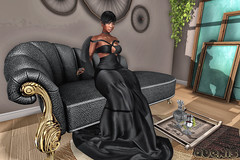 --- Plush Life --- (Vexed By Avexis ♥) Tags: firestorm secondlife secondlife:region=ninnananna secondlife:parcel=themidnightsociety secondlife:x=220 secondlife:y=216 secondlife:z=3006 genusproject queenz ebony dress blog decor chaise avemoi slinkhourglass atelierpepe swallow muka ta avémoicouture