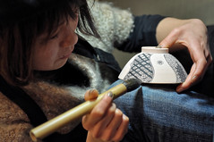 下絵付 (小川 Ogawasan) Tags: japan japon traditional craft handcraft art japanese 京都kyoto