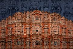 Jaipur (HWHawerkamp) Tags: india jaipur hawamahal architecture graphics abstarct travel cities creativeedit composing colours