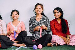 Photo of the Day (Peace Gospel) Tags: groupshot portrait women girls trafficking survivors rescued restoration rehabilitation smiles smiling happy happiness joy joyful peace peaceful hope hopeful thankful grateful gratitude knitting making handmade creating creativity crafting handcrafted craftsmanship empowerment empowered