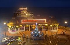 Cromer Pier Christmas Night Time (CMEontheMove) Tags: cromer pier seaside resort christmas tree