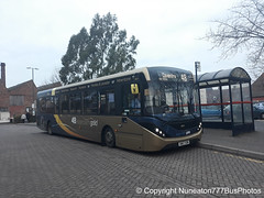 SN67XDM 26219 Stagecoach Gold Midlands (Warwickshire) in Atherstone (Nuneaton777 Bus Photos) Tags: stagecoach gold midlands adl enviro 200mmc sn67xdm 26219 atherstone