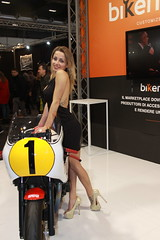 MBE Model (themax2) Tags: 2019 mbe verona expo girl hostess motorbike promotora legs cfmshoes highheels