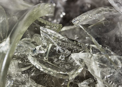 Beyond Repair (Helen Orozco) Tags: macromondays picktwo damagedglass hmm shattered shards