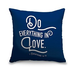 Corinthians 16 14 Scripture Art In White And Navy-Handlettered Bible Verse reading Do everything in Love.   Check out our website: https://spaceplug.com/1-corinthians-16-14-scripture-art-in-white-and-navy.html . . . . #spaceplug #navypillow #pillow #buy # (spaceplug) Tags: photooftheday canvas shop marketplace mood spaceplug navypillow homedecor buy sell like4like photo home decor pillow canvasdemand photography follow4follow