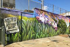 Animal Farm by Jamie Hef & KA (wiredforlego) Tags: graffiti mural streetart urbanart aerosolart publicart brooklyn williamsburg newyork nyc ny jameshef hefster ka