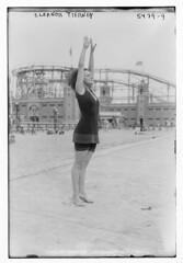 Eleanor Tierney (LOC) (The Library of Congress) Tags: libraryofcongress dc:identifier=httphdllocgovlocpnpggbain32492 eleanortierney tierney starlightpark amusementpark bronx newyorkcity bathingsuit swimsuit rollercoaster
