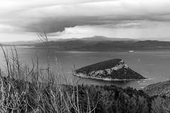 Figarolo e il temporale (hydRometra) Tags: natura capofigari semaforo golfoaranci sardegna seascape mare outdoor calamoresca sardinia
