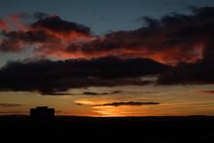 4th December 2018 Sensational Sunrise-2 (Philip Gillespie) Tags: edinburgh scotland 2018 december sunrise sun sky clouds orange red pink blue purple silhouette morning beautiful colour color canon 5dsr early cloudporn winter