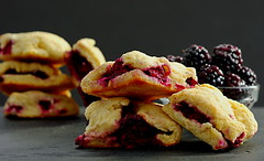 Sunlight and Blackberry Scones (Eat With Your Eyez) Tags: morning sunlight dawn sunroom blackberry scones baking dessert pastry sweets slate bowl stack foodphotography foodstyling foodplating plating styling cooking delicious berry berries pentax bokeh