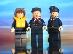Royal Air Force pilots (brickhistorian) Tags: lego ww2 world war two fig figbarf minifig minifigure brick bricks raf fighter pilot poland history royal air force airforce custom customs paint painted moc afol
