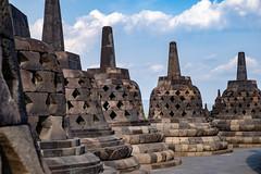 Borobudur temple (.John Wong) Tags: