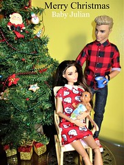 Merry Christmas (flores272) Tags: merrychristmas ken barbie barbiedoll doll dolls toy toys christmas