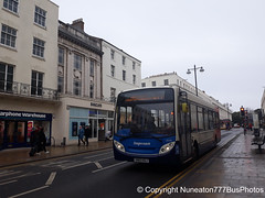 SN63KGJ 36948 Stagecoach Midlands (Warwickshire) in Leamington Spa (Nuneaton777 Bus Photos) Tags: stagecoach midlands adl enviro 200 sn63kgj 36948 leamingtonspa
