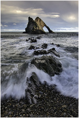 20190208006 (Christopher Nicholls) Tags: bowfiddle rock waves beach pebbles sky clouds