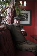 Garry 65, Not Out. (Garry Corbett) Tags: fujix100f fujinon23mmf2lens mapardoesatnetherton pub realale portraitofanartist londonmarch2019 my65thbirthday london exhibitions cgarrycorbett2019 bluejazzbuddha