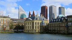 Den Haag - old & new (willi.kampf) Tags: holland netherland nederland oldnew newbabylon skyline mauritiushuis binnenhof denhaag thehaque zuidholland ngc sx60