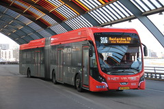 R.NET VDL Citea SLFA 181 bus no.1032 , Amsterdam 24.12.2018 (szogun000) Tags: amsterdam netherlands nederland city cityscape vehicle bus autobus vdl vdlcitea electric citeaslfa181 connexxion rnet 1032 line316 masstransit publictransit transportation urban noordholland northholland canon canoneos550d canonefs18135mmf3556is