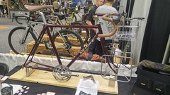 20190317_095522_HDR (AR Cycles) Tags: ar cycles nahbs 2019 bike show steel is real lug road randonneur frames stainless bead blast framebuilding class