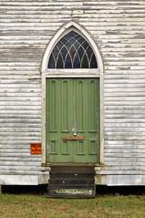 DSC_7405 (scsmitty) Tags: church historic architecture southcarolina mountcarmelsc nationalregisterofhistoricplaces door
