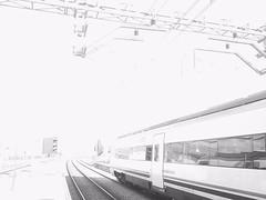 Papershoot 161 (acido askorbiko) Tags: white overexposed blackandwhite blacknwhite papershoot papershootphotography papershootcamera lomografia lomography lomo truelomo train trainstation travel landscape landscapephotography landscapelovers landscapehunter landscapes killyourcity urban urbanandstreet urbex urbanphotography street streetmagazine streetphotography streetshared noedit nofilters sinfiltros