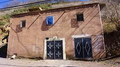 Cheaper Than Asda - Morocco - Atlas Mountains - Mar 2018 (Gareth1953 All Right Now) Tags: morocco atlasmountains traditional house sign humour shadows