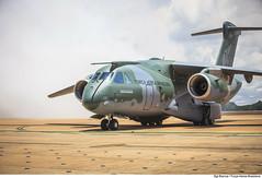 KC-390 (Força Aérea Brasileira - Página Oficial) Tags: 2018 23deoutubro brasiliadf df datacomemorativa diadaforcaaereabrasileira diadoaviador fab forcaaereabrasileira forçaaéreabrasileira fotobiancaviol kc390 oma solenidade ala1 brazilianairforce distritofederal formatura patiodeaeronaves