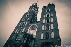 Krakow (Rutger Photography) Tags: krakow cracovie pologne monochrome church