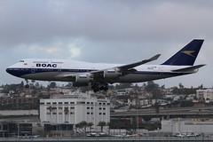 British Airways (So Cal Metro) Tags: britishairways 747 744 747400 gbygc boac retrojet airline airliner airplane aircraft plane jet aviation airport san sandiego lindberghfield british boeing jumbo jumbojet