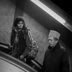 Hat Envy (Robert Barone) Tags: commute italy italia roma blackandwhite rome monochrome streetphotography