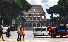 Via dei Fori Imperiali, Rome, 20130311 (G · RTM) Tags: colosseum viadeiforiimperiali rome coliseum