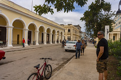 Eclectic architecture in Sagua's downtown - The Society Liceum (lezumbalaberenjena) Tags: sagua villas villa clara cuba 2019 lezumbalaberenjena