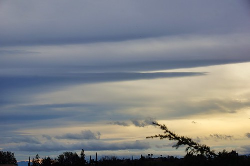 2019-01-16 - Nature Photography, Sky before the Rain Storm