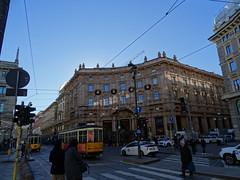 Milano (53) (pensivelaw1) Tags: italy milan statues trump starbucks romanruins thefinger trams cakes architecture