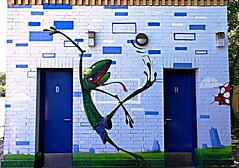 Berlin 2018.06.07. Mural 138.10 - FC Kreuzberg - 2014 (Rainer Pidun) Tags: mural streetart urbanart publicart berlin