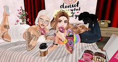 With My cutie friend Roxy (The Diary of a GorgeaoSykes) Tags: secodnlife avatars edition avis second life playing games photoeditingsl sl slblog
