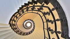 Die schöne Spirale der Oberpostdirektion (petra.foto busy busy busy) Tags: treppe treppenhaus stairs hamburg germany oberpostdirektion architektur spirale schnecke fotopetra staircase aoi elitegalleryaoi bestcapturesaoi